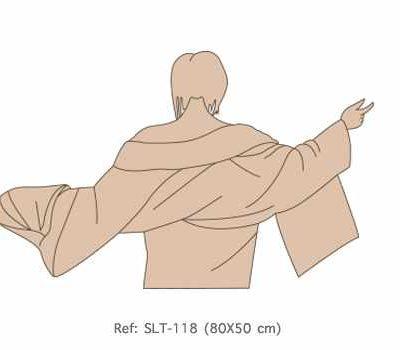 SLT-128 Silueta Geisha brazos abiertos