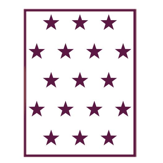 Plantillas Estrellas Para Decorar.T 33076 Plantilla De Estarcido Para Decorar Estrellas