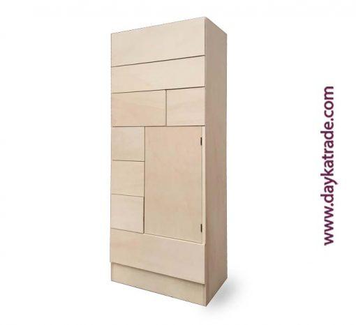 Mueble madera manualidades cajones pino Dayka Trade