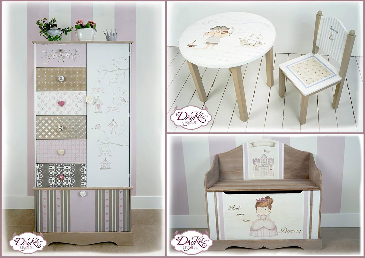 Muebles con Stencil Dayka