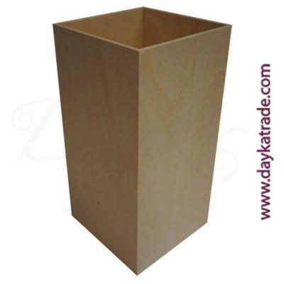Paragüero simple de madera Dayka