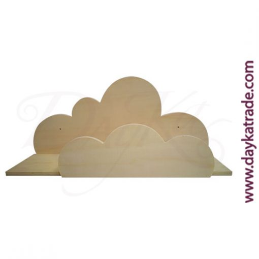Balda nube de madera Dayka