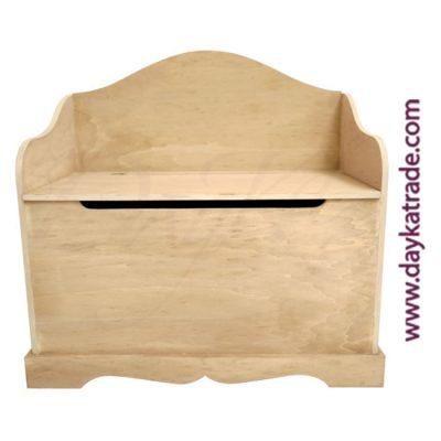 Dayka Wooden Trunk Bench