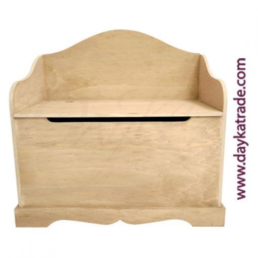 Banco baúl de madera Dayka