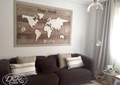 Mapa mundi Pilar