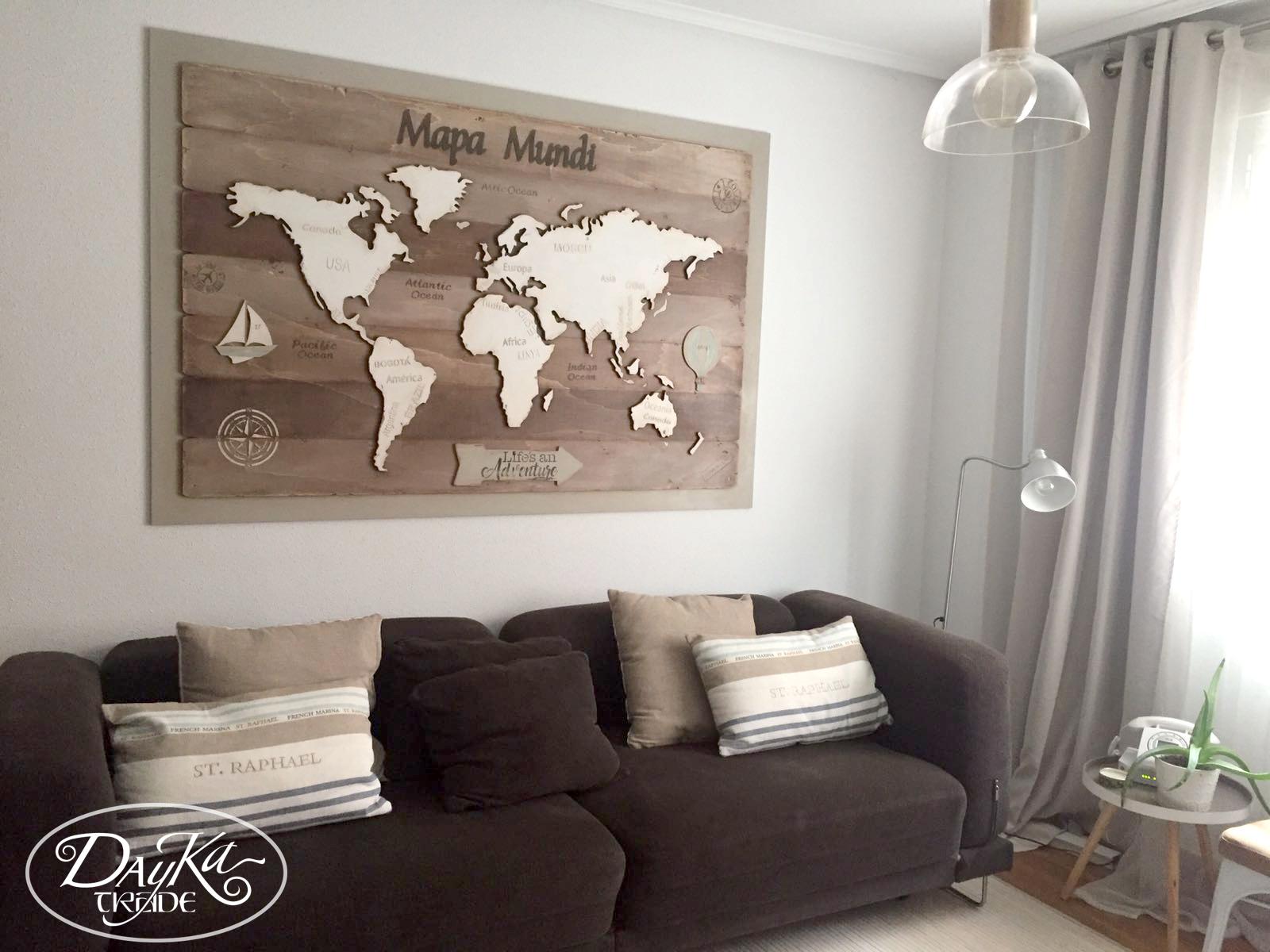 Mapa Mundi Dayka Trade # Muebles Dayka Trade