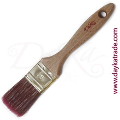 Paletina Dayka triple cerda nº 18 con mezcla de pelo de cerda y fibra.