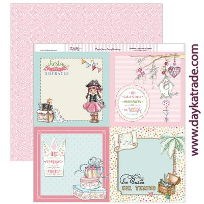 SCP-198 Scrapbooking Dayka Momentos inolvidables para niña, portadas
