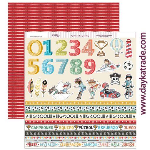 SCP-217 Papeles Scrapbooking Dayka números