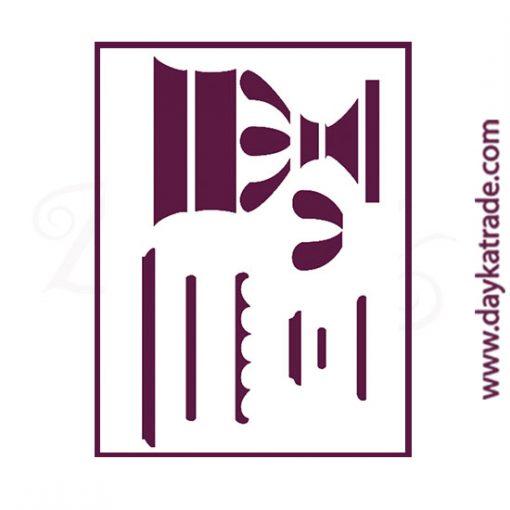"Stencil A3 Dayka ""COPA"" para pintar en 3 fases"