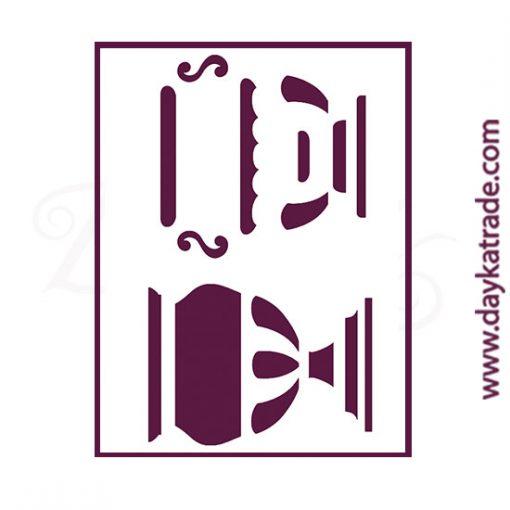 "Stencil A3 Dayka ""COPA"" para pintar en 2 fases"
