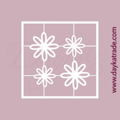 Petunias con hueco en cartón fino blanco, flexible y adaptable a todas las superficies. Se puede pegar y pintar fácilmente. Se utiliza en vidrio, para trabajos de scrapbooking, pegar en mueble, marcos...