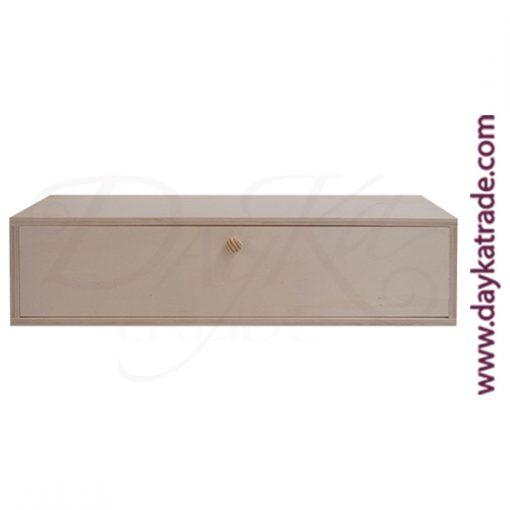 Caja para infusiones con 5 divisiones de 37 x 10 x 10,5 cm