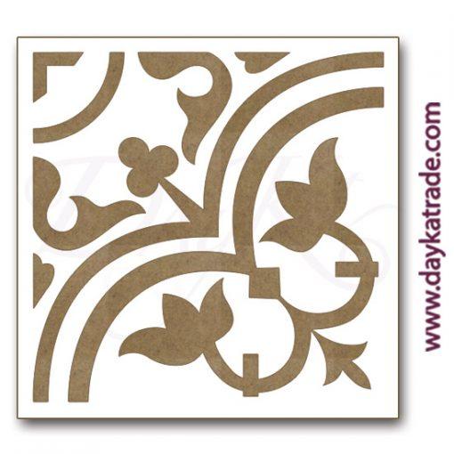 Azulejo en tablero lacado de Dayka trade.