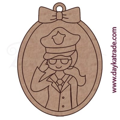 Dolly keychain police