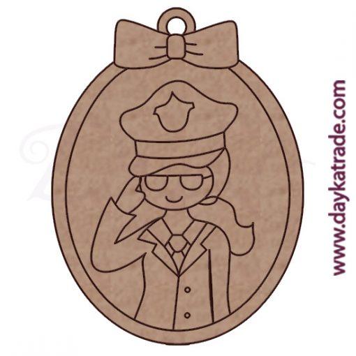 Dolly llavero policía