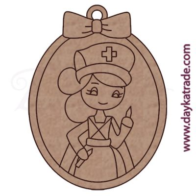 Dolly keychain nurse