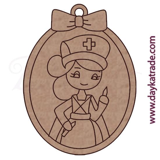 Dolly llavero enfermera