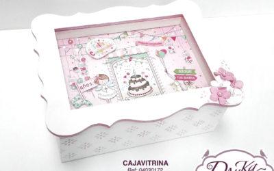 Caja Vitrina Cumpleaños niña