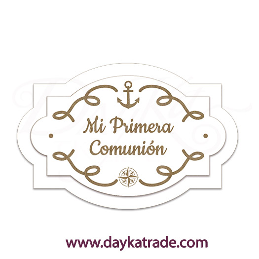 7843d5285a24 BLC-173G Dayka CARTEL MARINERO MI PRIMERA COMUNIÓN - Dayka Trade