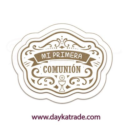 BLC-174G Dayka CUP POSTER MY FIRST COMMUNION