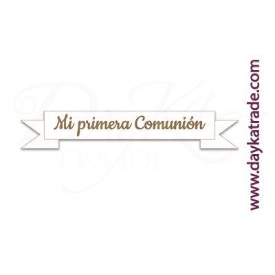 "BLC-180 ETIQUETA "" MI PRIMERA COMUNIÓN"""