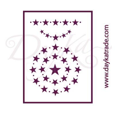 V-338 Stencil A5 Dayka MEDALLAS DE ESTRELLAS