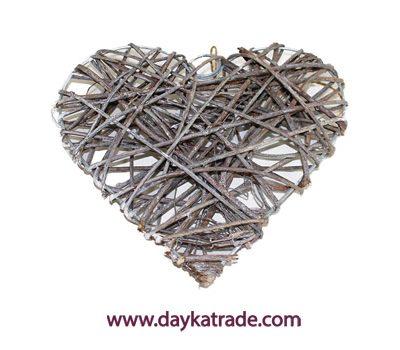 22-5675-226 Corazón con ramitas de madera