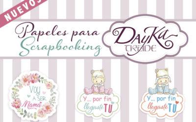 PAPELES SCRAPBOOKING DAYKA