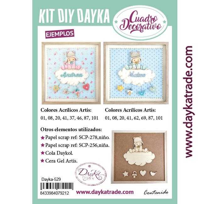 Dayka-529 KIT DIY DAYKA NIÑO EN NUBE