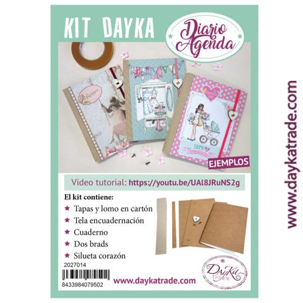 2027014 Kit Diario Agenda Dayka