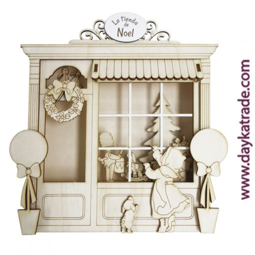 Dayka-544 Cuadro tienda Noel