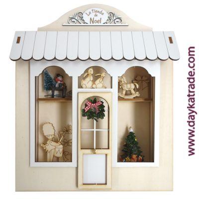 Dayka-545 Vitrina tienda Noel