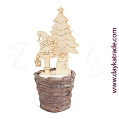Dayka-546 Papa Noel con maceta