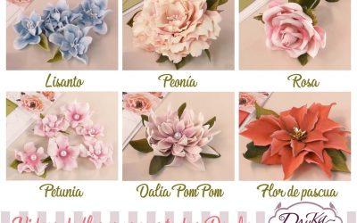 Tutoriales de Flores de Foamiran Dayka