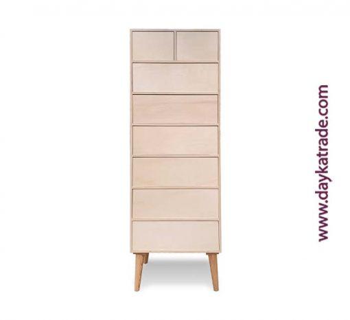 Mueble decoración retro madera - Cajonera 1628066