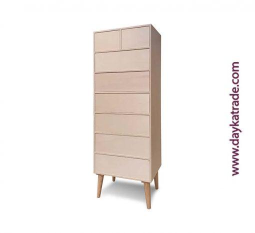 Mueble retro 8 cajones - Decoración mobiliario - Madera Manualidades Dayka Trade