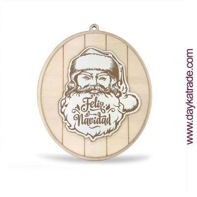 Cartel Navidad Papá Noel - Manualidades DIY Dayka Trade