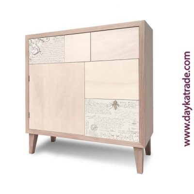 Mueble estilo vointage decorado - Decoración DIY Mueble - Dayka Trade