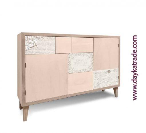 Mueble decoración vintage - Papeles decorados Dayka Trade