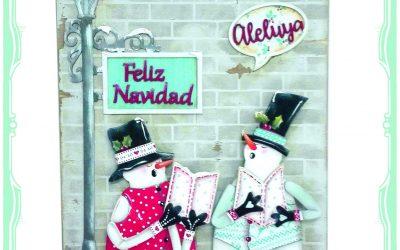 Set de Muñecos de nieve Dayka-307 decorados